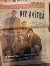 Melody Maker 2nd February 1985 Del Amitri, Ramones, Morrissey, Kirsty MacColl