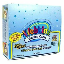 10-BOXES WEBKINZ : SERIES 1 TRADING CARD BOOSTER CASE NEW SEALED Wholesale Lot