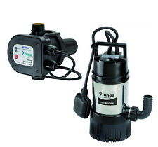 Onga Tankbuddy OTB450 Auto Submersible Pump & MP1100 Electronic Pressure System