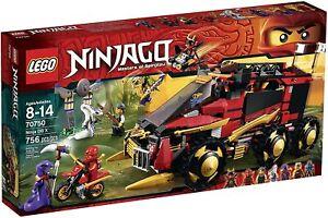 Lego Ninjago 70750 Ninja DB Masters of Spinjitzu