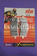 2 X SBS 841 RS APRILIA RSV4 1000 , ABS 2009 - UPWARDS FRONT BRAKE PADS