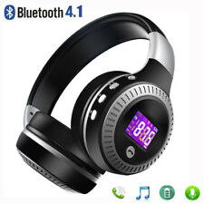 Zealot B19 LCD Inalámbrico Música Auriculares Estéreo Bluetooth 4.1 Tf Radio Fm Micrófono
