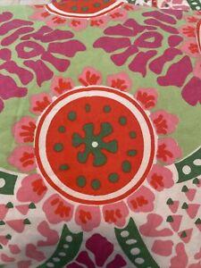 Delia's Cotton queen sz Retro duvet with 2 pillow case set reversible vintage