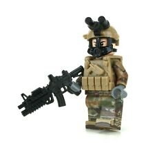 Army Ocp Chemical Warfare Soldier Made With Real Lego® Minifigure