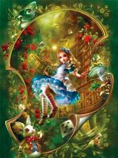 MASTERPIECES BOOK BOX JIGSAW PUZZLE ALICE IN WONDERLAND SHU 300 PCS EZGRIP 31460