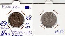 FU 2913 MONEDA PORTUGAL 50 CENTAVOS 1935 EBC