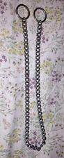 Heavy Duty Collar Chain Dog Pet Slip Choke Chain Round Twist Link