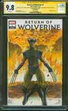 Return of Wolverine 1 CGC 9.8 3XSS McNiven Alvarez Original art Sketch 11/18
