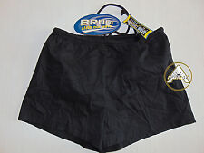 Vintage 90 BRUGI Boxer L JUNIOR (S) Shorts Costume Beach Bambino Kid NERO OS 80