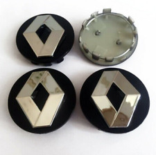 * 4pcs x 54mm Renault Car Black Wheel Center Hub Caps Badge Emblem Logo