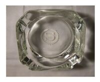 Vintage 70s Sheraton Motor Hotel Lodge Motel Glass Advertising Ashtray Ofr