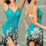 Summer Women Bathing Suit Bikini Swimwear Cover Up Beach Sarong Wrap Pareo Dress