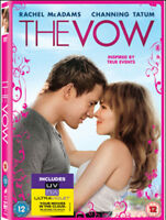 The Vow DVD (2012) Rachel McAdams, Sucsy (DIR) cert 12 ***NEW*** Amazing Value
