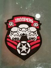 Star wars Storm Troopers  Army Shield Embroidered Patch/Iron-On Applique Badge