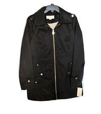 NWT $150 Michael Kors Jacket Coat Black Logo Womens