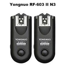 Yongnuo RF603II N3 Wireless Studio Flash Trigger Remote Control for Nikon Camera