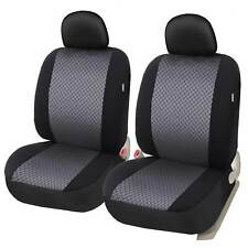 Auto Front Low Back Cloth Seat Covers Set of 2 Universal  for Car Truck SUV