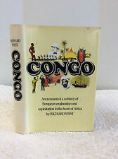 CONGO By Richard West- 1972, Africa, imperialism