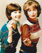 Cindy Williams & Penny Marshall - Laverne & Shirley signed photo