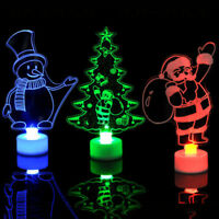 Christmas Changing Color Small Night Light LED Lamp Home Party Decoration NEW