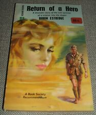 1959 First Edition Vintage Paperback of RETURN OF A HERO by Robin Estridge