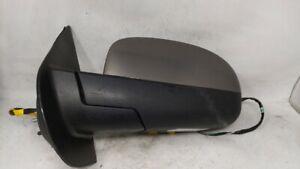 2007-2014 Gmc Yukon Xl 1500 Driver Left Side View Power Door Mirror Grey 102004