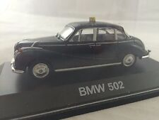 BMW 502 TAXI  Black  SCHUCO 1:43  Made In China