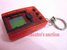 1997 BANDAI DIGIMON DIGIVICE DIGITAL MONSTER GAME *NICE* CLEAR RED ENGLISH TOY