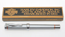 Harley Davidson Fountain pen, steel Grey laquer,new old stock