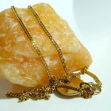 8K 333er Kette mit 2 Anhänger Collier Halskette Goldkette Gold 37 cm
