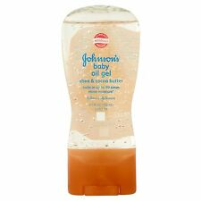 Johnson's Shea & Cocoa Butter Baby Oil Gel 6.5 OZ