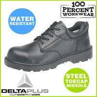 Pro Heavy Duty Hard Wearing Safety Work Shoes Steel Toe Cap Mechanics Engineers