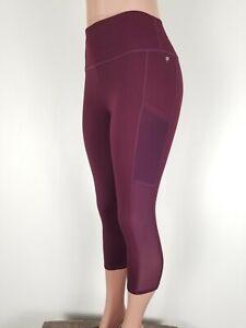 FABLETICS Women's MILA HIGH-WAISTED Powerhold Pockets  7/8 Mesh Leggings XL