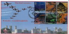 GB 2004 BRITISH JOURNEY (WALES) CAMBRIDGE 'RED ARROWS' OFFICIAL FDC - 30 EXIST