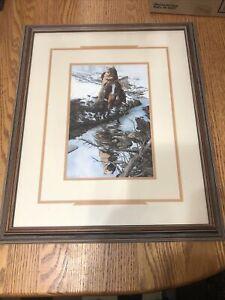 Bev Doolittle Spirit of the Grizzly Framed Print 22 X 18  including frame !