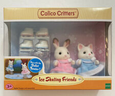 Calico Critters Ice Skating Friends #1729 Playset NEW Ballet Theater Compatible