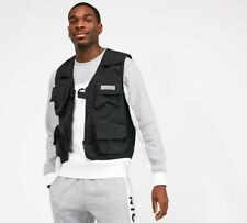 NICCE Vestival Multi-Pocket Utility Vest BNWT Designer Men Top Festival Clothing