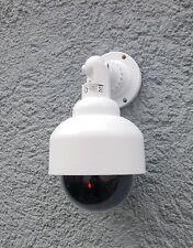 LED-Überwachungskamera-Attrappe Alarmanlage Camera In +Outdoor Dome Dummy