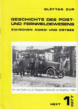 Nord- Ostsee Postg. H1-1977, STADTPLAN v. KIEL 1895 + Post in SCHÖNWALDE -Teil 2
