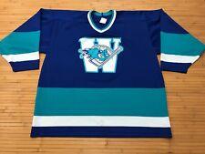 MENS XL -  Vtg 90s Minor League Hockey Team CCM Print Jersey