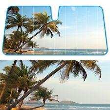 "Cool Beach Baby Blue Auto Windshield Car Sun Visor Shade UV Block 58"" x 27"""