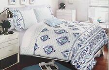 Alex & Zoe Medallion , Scroll 3Pc Twin Xl Comforter Set-Royal Blue,Aqua