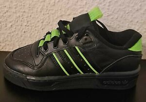 Adidas Rivalry Low Running Sports Shoes Fitness Shoes Men's Black Green 38