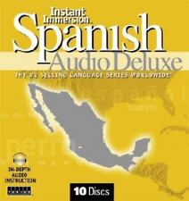 Instant Immersion Spanish Audio Deluxe by Topics Entertainment Staff (2006, CD,