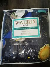 WAVERLY Kids Space Adventure Comforter Set Twin NEW