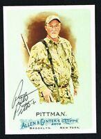 Preston Pittman #176 signed autograph auto 2010 Topps Allen & Ginter's Card