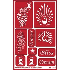 Armour Products Over 'N' Over Reusable Stencils - 343287