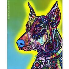 Doberman Print 11x14 by Dean Russo (DR04511x14)