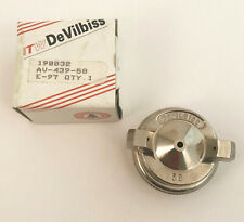 DEVILBISS AV-439-58 Air Cap with Retaining Ring