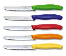 VICTORINOX Tafelmesser Bunt NEU/OVP Tomatenmesser Küchenmesser 5er SET mit blau